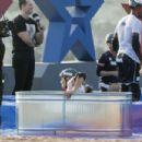 Brooke Hogan – Champs vs Stars Set in Los Angeles
