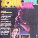 Led Zeppelin - Zonk Magazine Cover [Finland] (March 1973)