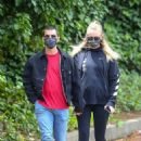 Sophie Turner and Joe Jonas – Out and about in Los Angeles