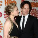Anna Paquin and Stephen Moyer at The Emmy Awards - HBO Party - Arrivals