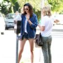 July 6 | Phoebe Tonkin & Leah Pipes in West Hollywood - 454 x 537