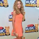 Denise Richards arrives to the 2013 Radio Disney Music Awards at Nokia Theatre L.A. Live on April 27, 2013 in Los Angeles,