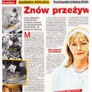 Barbara Brylska - Na żywo Magazine Pictorial [Poland] (15 February 2018) - 454 x 642