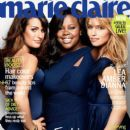 , Amber Riley, Dianna Agron - Marie Claire Magazine Cover [United States] (1 May 2011)