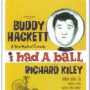 POSTER FOR ''I HAD A BALL'' 1963 MUSICAL - 454 x 710