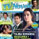 Özgü Namal, Ibrahim Celikkol - TV Novele Magazine Cover [Serbia] (April 2015)