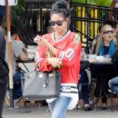 Karrueche Tran Out and About In La