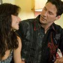 Keanu Reeves and Martha Higareda