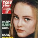Vanessa Paradis - Télé Star Magazine Cover [France] (3 December 1990)