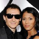 Chester Bennington and Talinda Bentley - 360 x 240