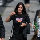 Courteney Cox – Arriving at Jimmy Kimmel Live! in LA - 454 x 589