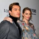 Actor Ed Westwick attends Louis XIII Celebration of