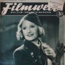 Lilian Harvey - Filmwelt Magazine Cover [Germany] (25 November 1938)