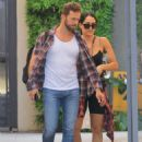 Nikki Bella and fiance Artem Chigvintsev – Visit a personal trainer in Beverly Hills - 454 x 623