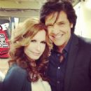 Michael Damian and Tracey Bregman