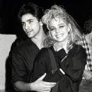 John Stamos and Teri Copley
