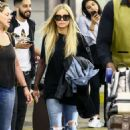 Carmen Electra in Jeans – Arrives at Airport in Miami - 454 x 681