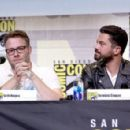 Actor Dominic Cooper attends AMC's 'Preacher' panel during Comic-Con International 2016 at San Diego Convention Center on July 22, 2016 in San Diego, California - 454 x 295