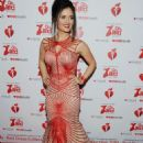Danica McKellar – The American Heart Association's Go Red For Women Red Dress Collection 2019 in NYC - 454 x 663