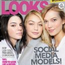 Kendall Jenner, Gigi Hadid, Karlie Kloss - LOOKS Magazine Cover [Indonesia] (November 2015)