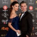 Juana Acosta and Ernesto Alterio- Goya Cinema Awards 2018 - Red Carpet - 454 x 302