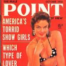 Marilyn Hanold - Male Point Magazine Cover [United States] (October 1956)