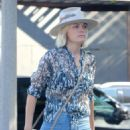 Malin Akerman – Heads to lunch in Hollywood