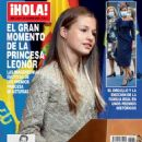 Infanta Leonor of Spain - Hola! Magazine Cover [Spain] (28 October 2020)