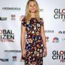 Erin Heatherton At 2014 Global Citizen Festival Vip Lounge In Nyc