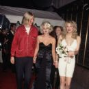 Drew Barrymore and Eric Erlandson and Courtney Love, September 7, 1995, MTV Video Music Awards
