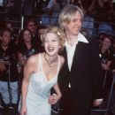 Drew Barrymore and Eric Erlandson, Batman Forever Premiere, June 9th 1995 - 454 x 678