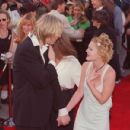 Drew Barrymore and Eric Erlandson, Batman Forever Premiere, June 9th 1995 - 454 x 430