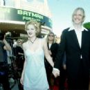 Drew Barrymore and Eric Erlandson, Batman Forever Premiere, June 9th 1995 - 454 x 313