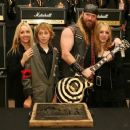 Zakk and Barbaranne Wylde and family - 454 x 374