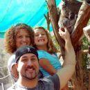 Joey Fatone, Kelly A. Baldwin their daughter Briahna