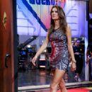 Alessandra Ambrosio El Hormiguero TV Show In Madrid