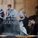 Kristen Out and About in Paris - January 31, 2012
