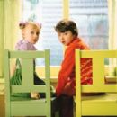 Dakota Fanning and Spencer Breslin in Universal's Dr. Seuss' The Cat In The Hat - 2003