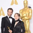 Chris Pine-February 22, 2015-87th Annual Academy Awards Press Room