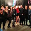 Ron Wood, Georgia May Jagger, Brett Grace, Taylor Swifit and Josh McLellan
