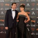 Penelope Cruz and Javier Bardem- Goya Cinema Awards 2016 - 454 x 302