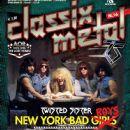 Mark Mendoza, Dee Snider, A.J. Pero, Eddie Ojeda, Jay Jay French - Classix Metal Magazine Cover [Italy] (November 2012)