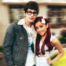 Matt Bennett and Ariana Grande