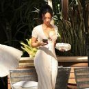 Draya Michele – With her boyfriend Tyrod Taylor at the Four Seasons in West Hollywood - 454 x 681