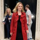 Julia Stiles – Leaves KissFM Studio in London