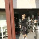 Bar Refaeli At Toto Restaurant In Tel Aviv