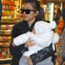 Kourtney Kardashian: out of JFK airport in New York City
