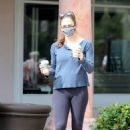 Jennifer Garner – Spotted while getting morning coffee in Malibu