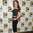 "Actress Sarah Wayne Callies attends the press line for the Fox Action Showcase with ""Prison Break"" and ""24: Legacy"" at Hilton Bayfront on July 24, 2016 in San Diego, California"