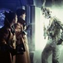 Melyssa Ade and Lisa Ryder discover a frozen Jason Voorhees in New Line's Jason X - 2002 - 454 x 304